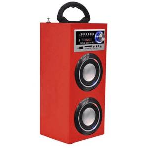 Majestic Torre Audio TS-78 BT/USB/SD/AUX/RADIO Luci Disco Red