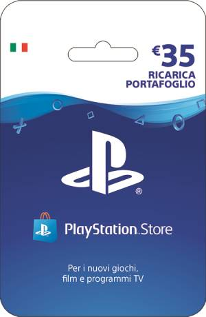 PlayStation Live Card Hang Ricarica 35Ç