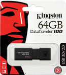 Kingston Pendrive USB 3.0 64GB DT100G3/64GB