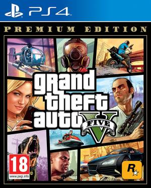 PS4 GTA Grand Theft Auto 5 - Premium Edition EU