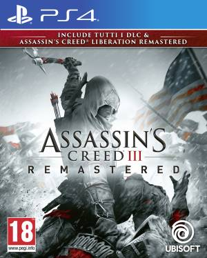 PS4 Assassin's Creed 3 + Assassin's Creed Liberation Remastered