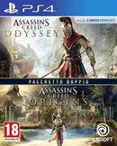 PS4 Assassin's Creed Origins + Assassin's Creed Odissey