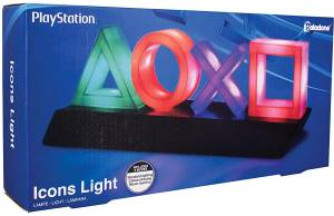 Paladone PP4140PS Lampada Playstation Icons Multicolore