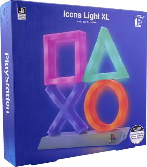 Paladone PP4140PS Lampada Playstation Icons XL Multicolore