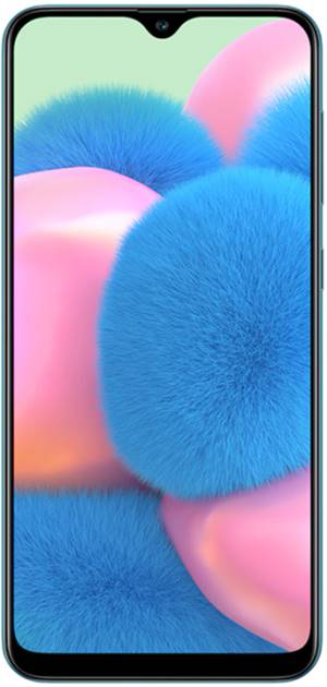"Samsung Galaxy A30s SM-A307F 4+128GB 6.4"" Prism Crush Green DS ITA"