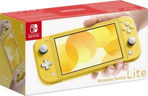Switch lite Console Giallo