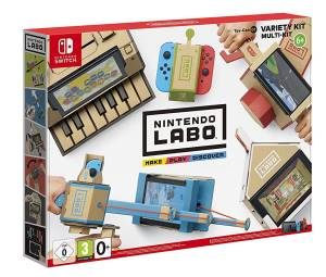 Switch LABO Toy-Con: Kit Assortito