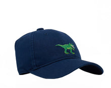 Load image into Gallery viewer, T-Rex on Navy Blue Hat