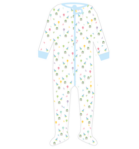 Boy Party Footie Pajamas