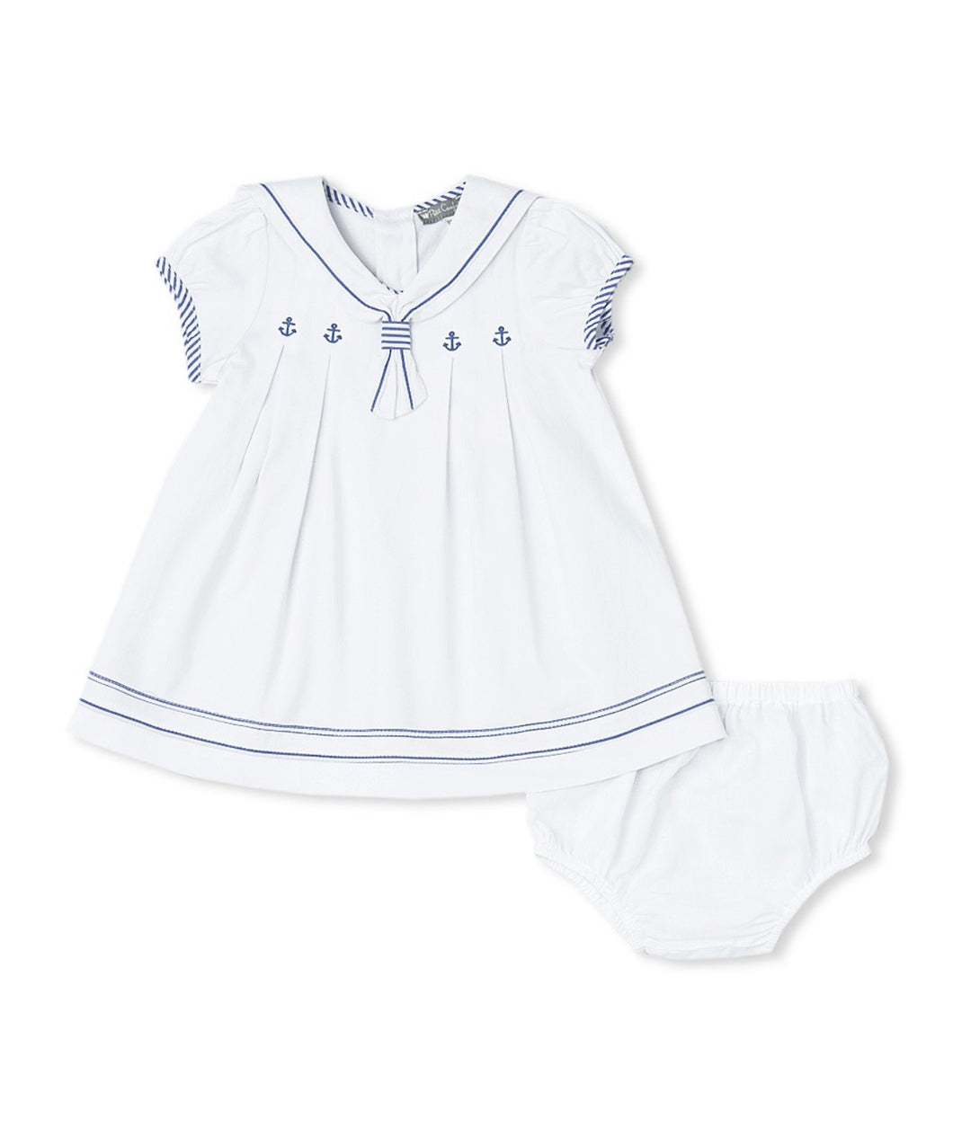 Anchor Sailor Dress and Bloomers
