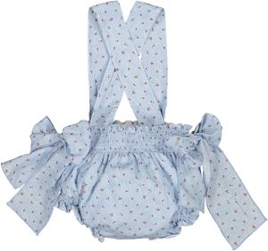 Cherry Blossom Polo and Nappie Cover