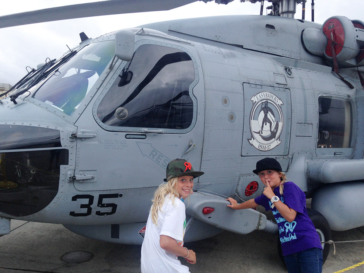 Team Bogart - Family fun at the 2015 Kaneohe Bay Airshow