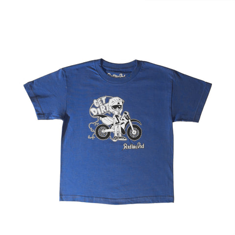 Wheels Character T-Shirt Blue