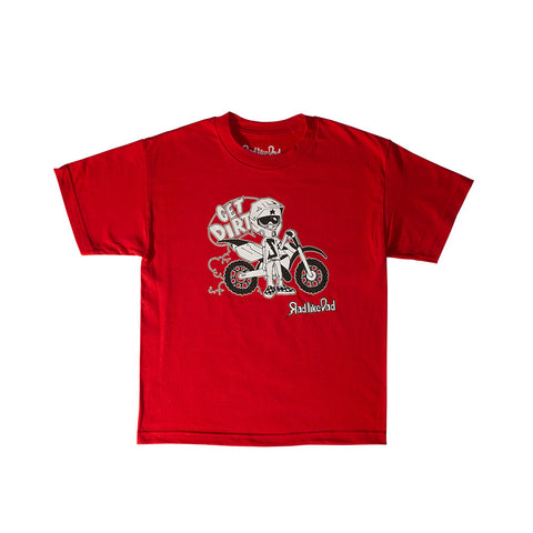 Wheels Character T-Shirt Red