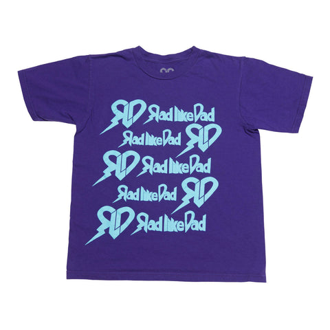 Stacked T-Shirt Purple