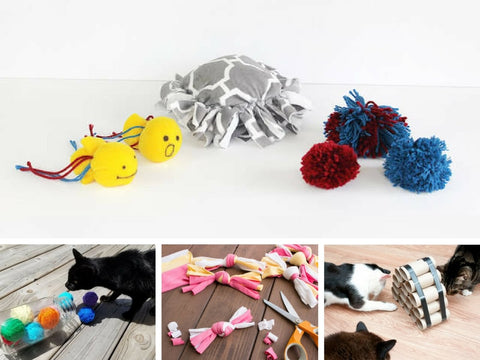 7 Easy-To-Make DIY Cat Toys In 2021 Image 1