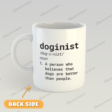 Bad Boy Custom Pet Mug - Noble Pawtrait