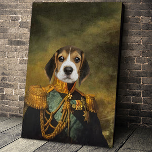 The Centurions Custom Pet Portrait Canvas - Noble Pawtrait