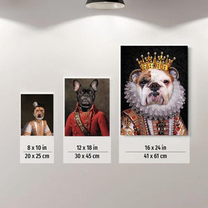 The Big Tuna Custom Pet Portrait Poster - Noble Pawtrait