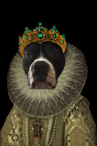 The Priest Custom Pet Portrait Digital Download - Noble Pawtrait