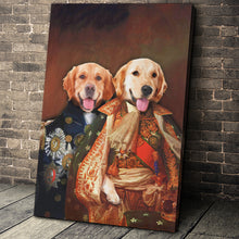 Load image into Gallery viewer, The Duo Custom Pet Portrait - Noble Pawtrait
