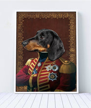 Load image into Gallery viewer, The Pilus Prior Custom Pet Portrait Digital Download - Noble Pawtrait