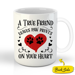 The Sergeant Custom Pet Mug - Noble Pawtrait