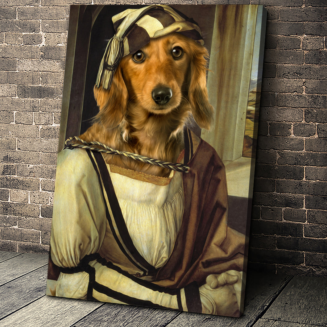 Albrecht Dürer Custom Pet Portrait - Noble Pawtrait
