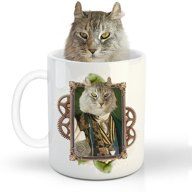 The Ambassador Custom Pet Mug - Noble Pawtrait