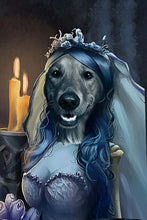 Load image into Gallery viewer, BridePaw Custom Pet Portrait Digital Download - Noble Pawtrait