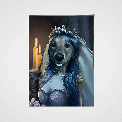 BridePaw Custom Pet Portrait Poster - Noble Pawtrait