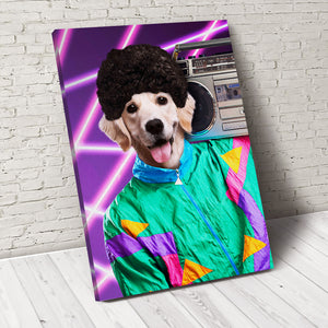 The Funky Paw Custom Pet Portrait Canvas - Noble Pawtrait