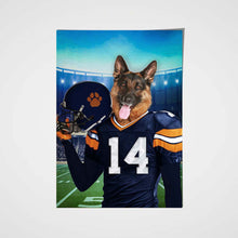 Load image into Gallery viewer, The Chicago Fan Custom Pet Portrait - Noble Pawtrait