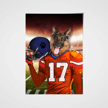 Load image into Gallery viewer, The Denver Fan Custom Pet Portrait - Noble Pawtrait