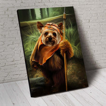Load image into Gallery viewer, The Doog-e-wok Custom Pet Portrait Canvas - Noble Pawtrait