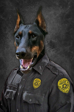 The Police Custom Pet Portrait Digital Download - Noble Pawtrait
