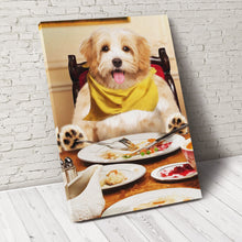 Load image into Gallery viewer, Happy Meal Custom Pet Portrait Canvas - Noble Pawtrait