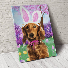 Load image into Gallery viewer, Happy Easter Custom Pet Portrait - Noble Pawtrait