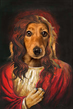 Load image into Gallery viewer, The Savior Custom Pet Portrait Digital Download - Noble Pawtrait
