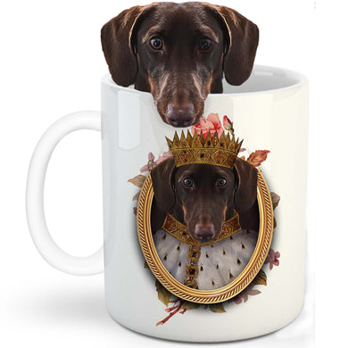 King Henry VII Custom Pet Mug - Noble Pawtrait