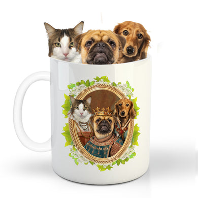The Legend Tio Custom Pet Mug - Noble Pawtrait