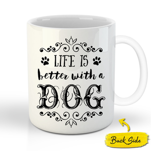 The Perisa Princess Custom Pet Mug - Noble Pawtrait