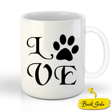 Load image into Gallery viewer, The Veteran Custom Pet Mug - Noble Pawtrait