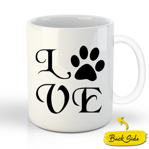 The Trio Custom Pet Mug - Noble Pawtrait
