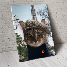 Load image into Gallery viewer, The Paris Custom Pet Portrait - Noble Pawtrait