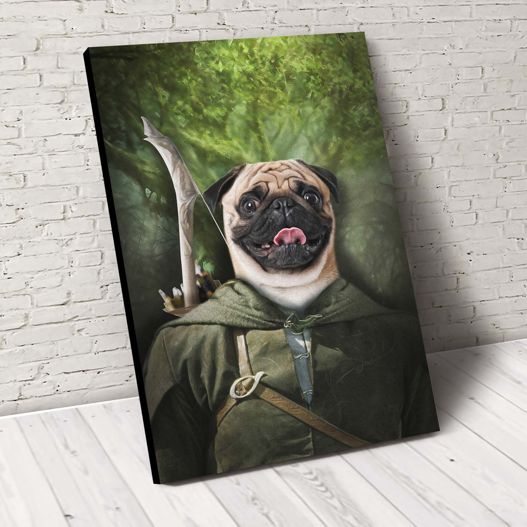 Pawgolas Custom Pet Portrait - Noble Pawtrait