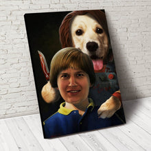 Load image into Gallery viewer, The Child Paw Custom Pet Portrait - Noble Pawtrait