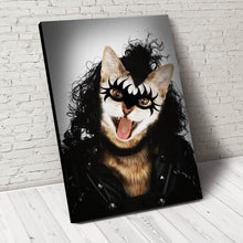 Load image into Gallery viewer, The Rocker Custom Pet Portrait - Noble Pawtrait