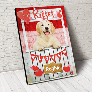 Kisses Paw Custom Pet Portrait - Noble Pawtrait