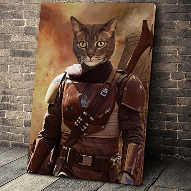 The Rebel Paw Custom Pet Portrait - Noble Pawtrait